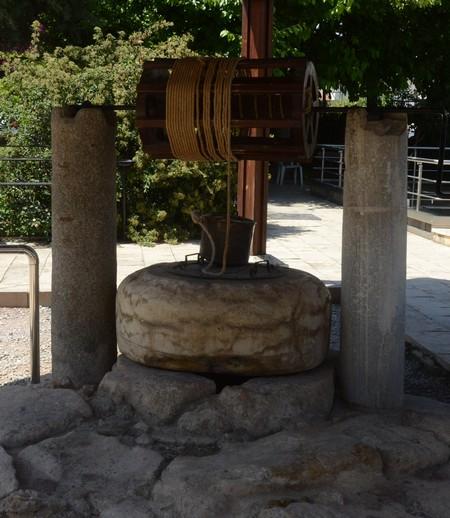 """De zogenaamde """"bron van Paulus"""" in Tarsus."""