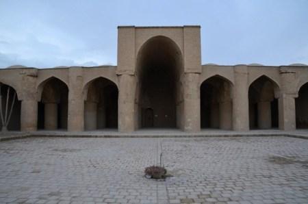 De moskee van Damghan