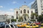 Het waterleidingsgebouw in Damascus. De Arabieren bleken niet in staat de watervoorziening te laten functioneren.