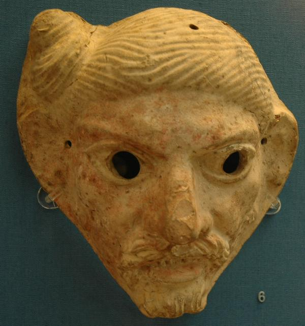 Romeins masker: een Germaan