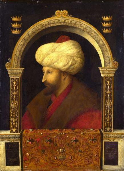 Bellini's portret van Mehmet II