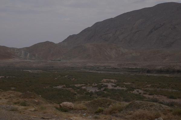 Bergvlakte bij Derbent