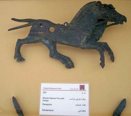 Paardjes (Nationaal Archeologisch Museum, Teheran)