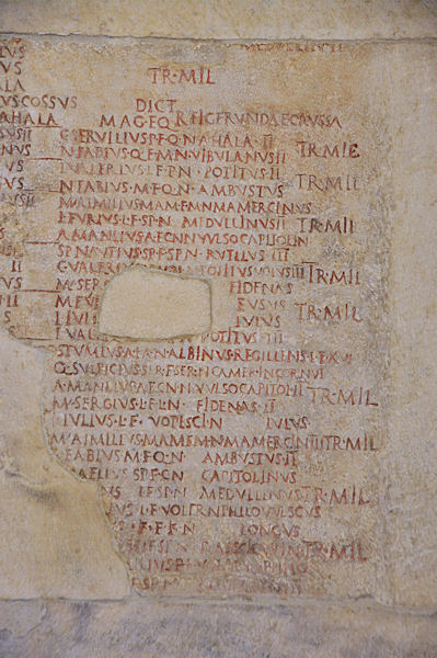 De Fasti Capitolini: Augustus' geautoriseerde chronologie, die Velleius Paterculus opzichtig negeerde