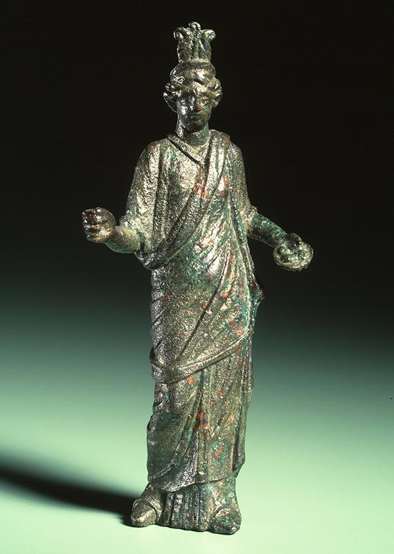 Isis (gevonden in Valkenburg ZH; foto Rijksmuseum van Oudheden)