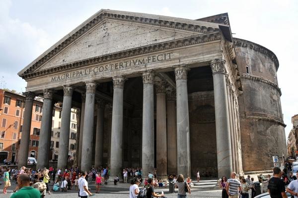 Pantheon, Hadrianus 118-125