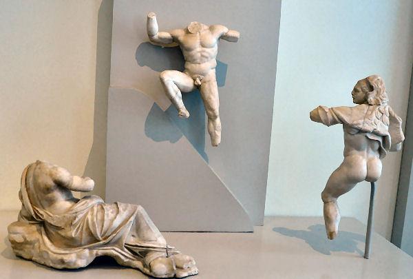 Herakles bevrijdt Prometheus (Altes Museum, Berlijn)