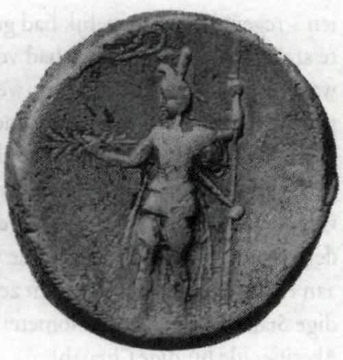 Alexander als Zeus, met bliksemschicht in de hand