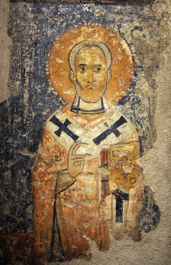 Nikolaas van Myra (Byzantijns Museum, Athene)
