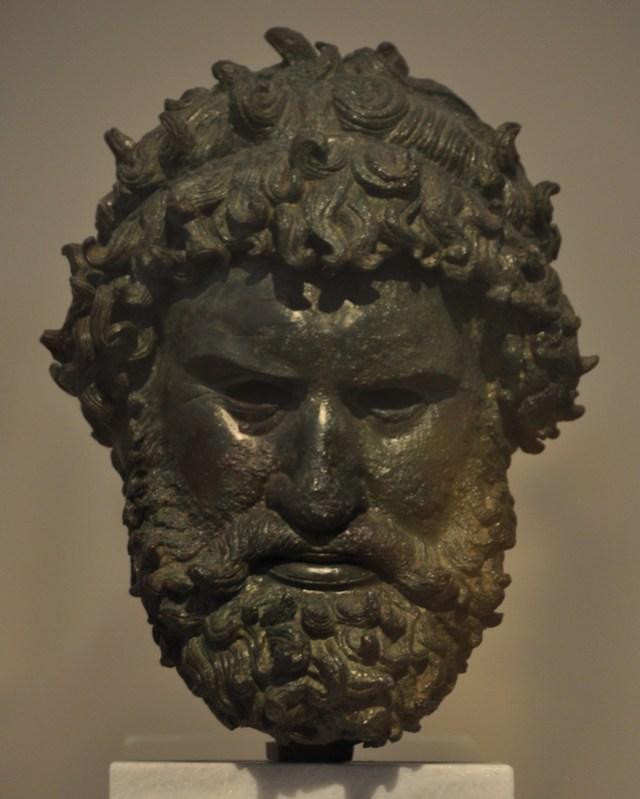 Portret van een Olympisch kampioen (Athene, Nationaal Archeologisch Museum)