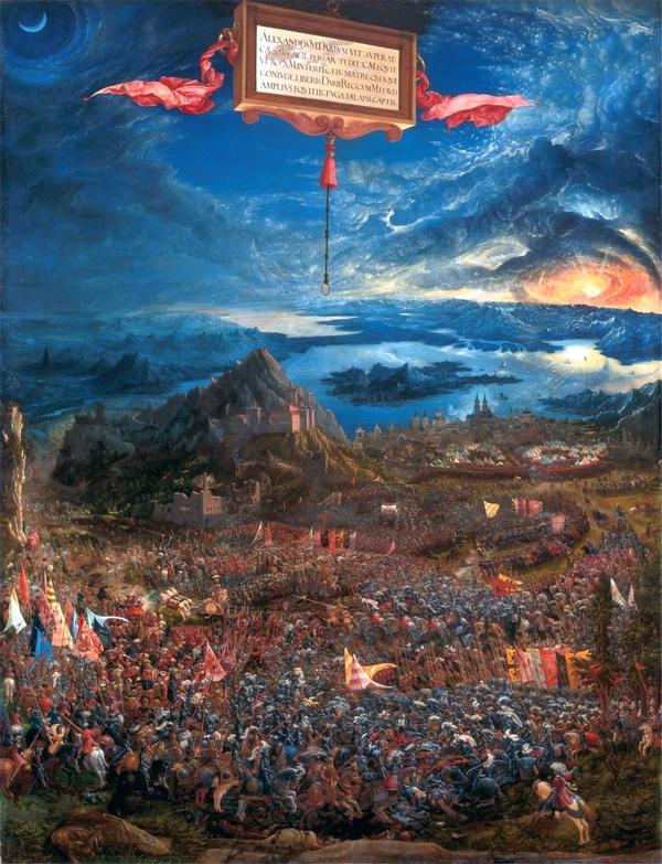 Albrecht Altdorfer, De slag bij Issos (1529)