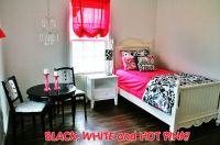 Black, white & Pink Bedrooms  PinkMaiooona