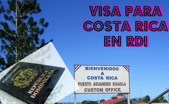 visa de Costa Rica en RD
