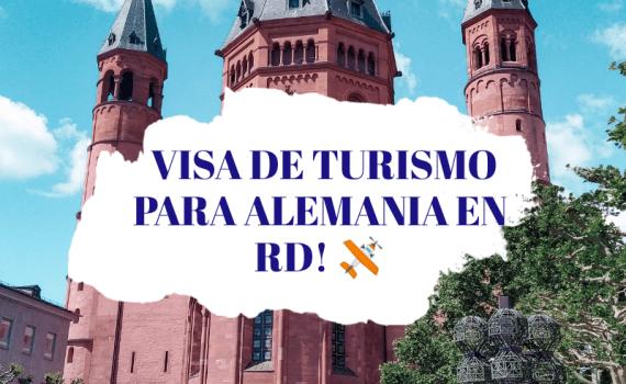 visa de turismo para Alemania en RD
