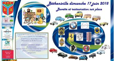 17/06/2018 – Brocante et Exposition de véhicules anciens