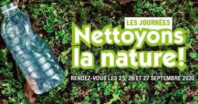 Opération «Nettoyons la Nature» le 25 septembre