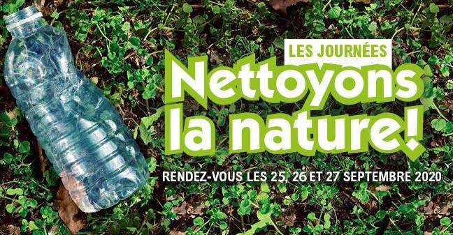 Opération «Nettoyons la Nature» le 26/09/2020