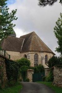 L'église, depuis la rue de la Correspondance