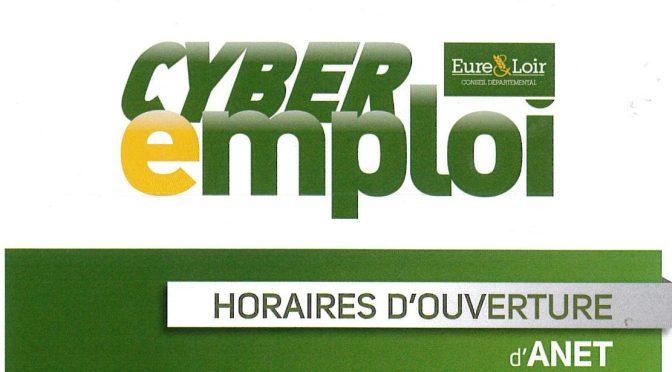 Cyber-emploi à Anet