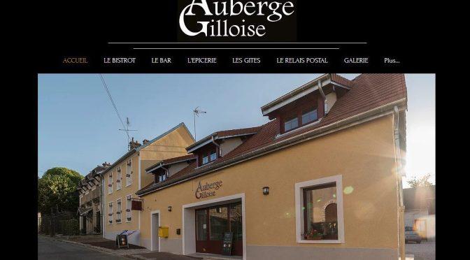Le site de l'Auberge Gilloise est en ligne !