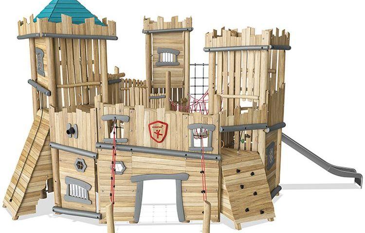Château terrain de jeux Saulxures