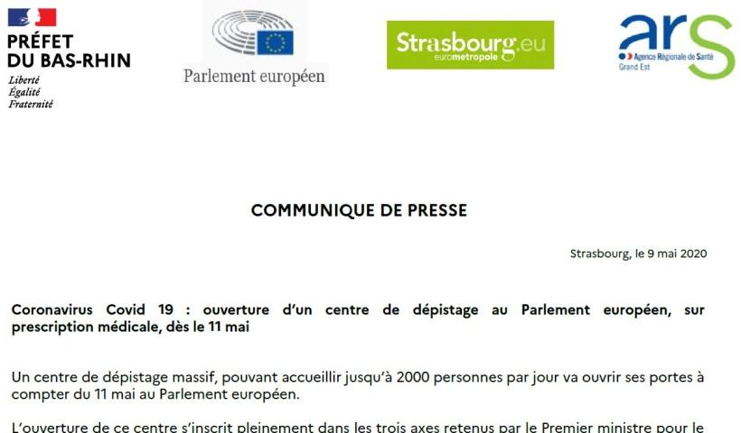 Dépistage Covid Strasbourg