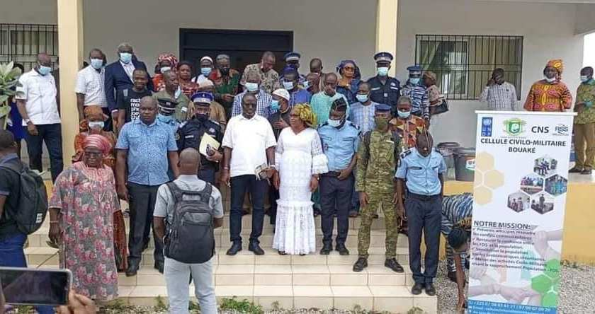 Relations Armée-Nation Bouaké