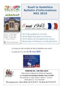 thumbnail of Information mai 2019
