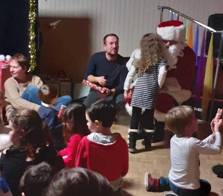 Les enfants de Rueil ont rencontré le père Noël