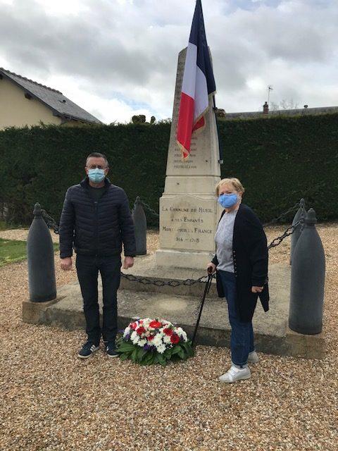 Cérémonie de commémoration de l'armistice du 8 mai 1945