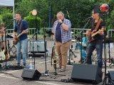 Dès 20h, le groupe roannais OK CAROLE est venu interpréter plusieurs grands classiques Rock et Blues des années 60/70.