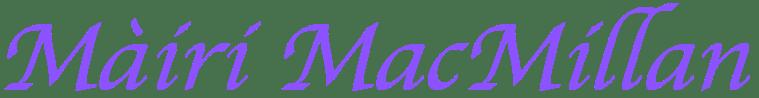 Mairi MacMillan, Traditional, Scottish, Gaelic Singer