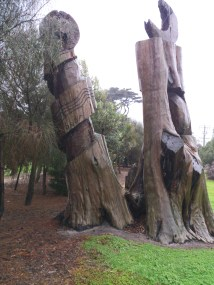 another view of trees
