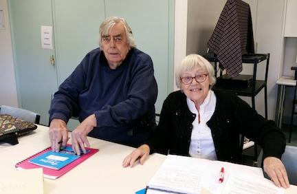 Dennis Worledge & Barbara Davies May 2016