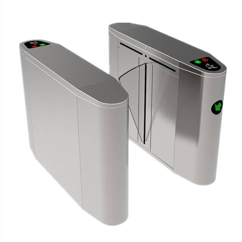 Flap barrier turnstile