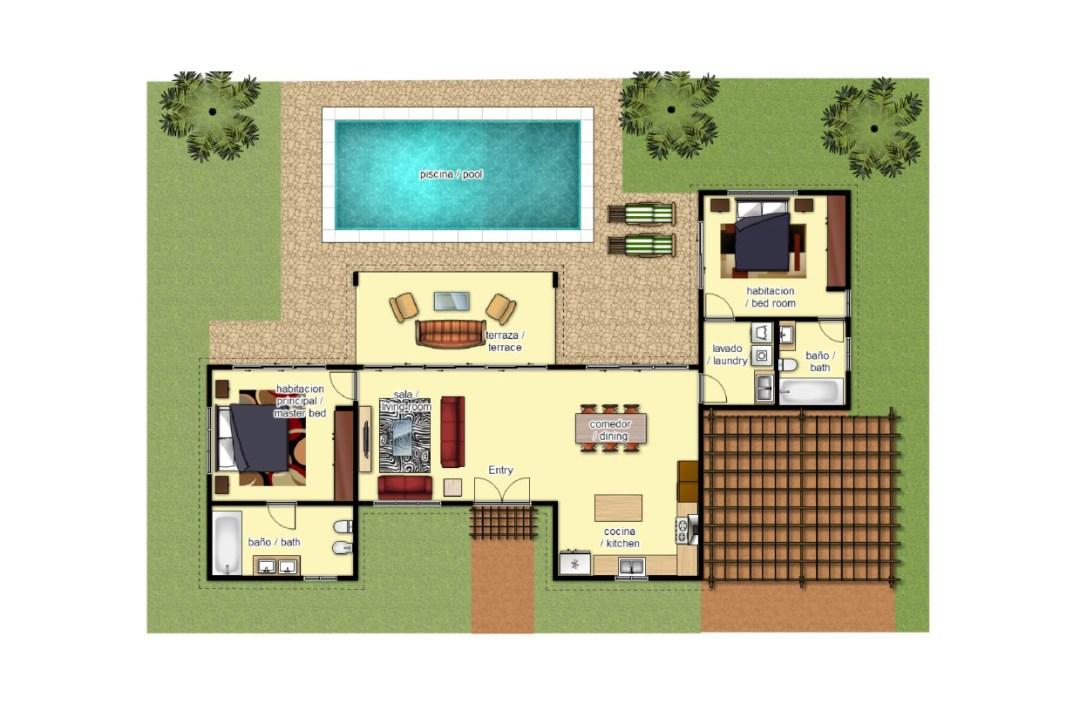 Villas Las Palmas - Tipo A (120 m²)