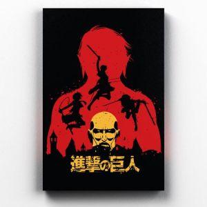Quadro Shingeki no Kyojin Attack on Titan