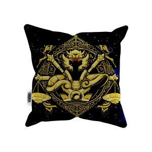Almofada Cavaleiros do Zodíaco Libra 30x30