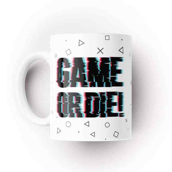 caneca game or die