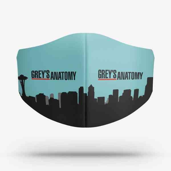 Máscara Greys Anatomy