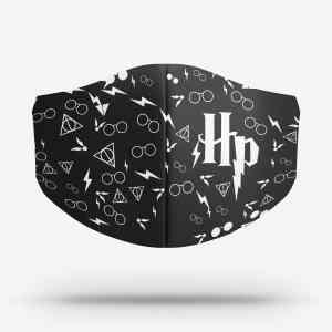 Máscara Harry Potter Preta