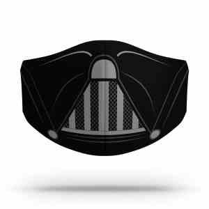 Mascaras Darth Vader Dupla Proteção Covid Personalizada Mais1Nerd