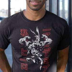 Camiseta Boku no Hero