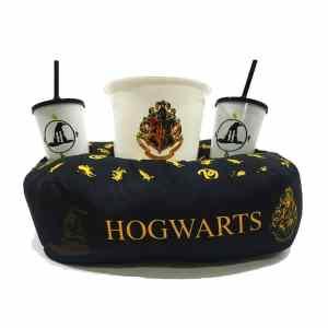 Kit Cinema Almofada Porta Pipoca Hogwarts