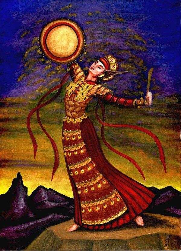 Muslim Goddess Of 10 000 Names