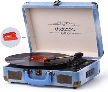Oferta Amazon! Gira-discos estilo vintage por apenas 43,9€