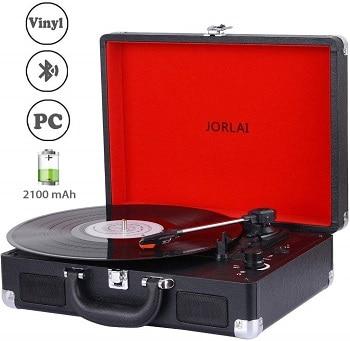 Oferta Amazon! Gira-discos estilo vintage por apenas 41,9€