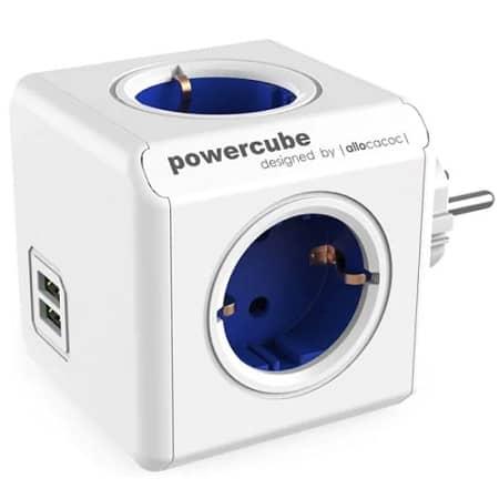 Powercube com 4 Socket EU + 2 USB desde Espanha por 11,95€