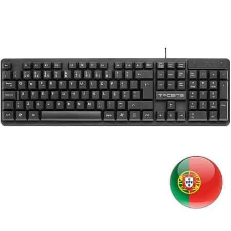 Oferta Amazon! Teclado layout Português por apenas 4,50€*