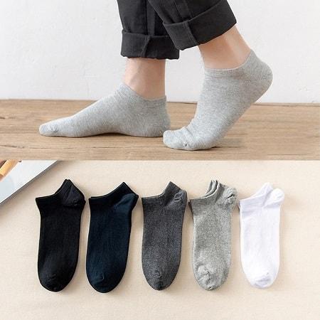 Pechincha! 5 pares de meias curtas por apenas 1,80€